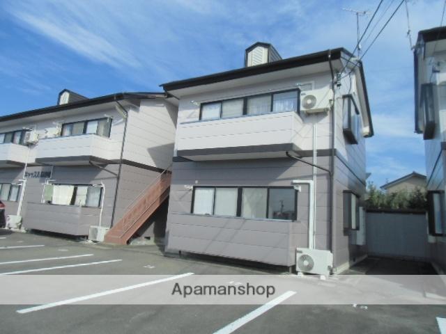 長野県中野市、信州中野駅徒歩14分の築20年 2階建の賃貸アパート