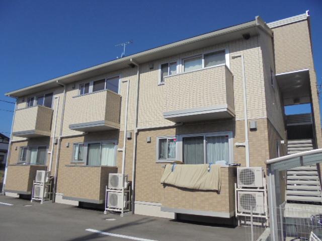 長野県長野市、北長野駅徒歩18分の築4年 2階建の賃貸アパート