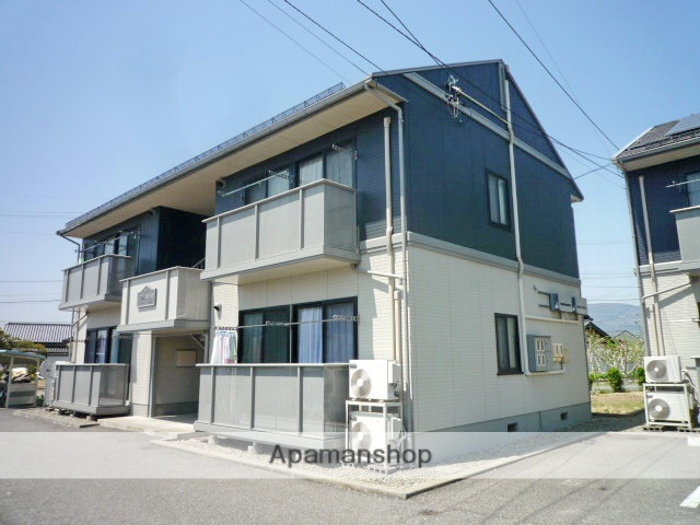 長野県長野市、附属中学前駅徒歩12分の築21年 2階建の賃貸アパート