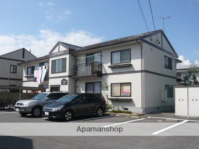 長野県中野市、信州中野駅徒歩10分の築24年 2階建の賃貸アパート