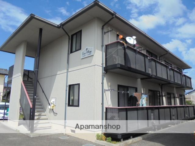 長野県長野市、朝陽駅徒歩9分の築18年 2階建の賃貸アパート