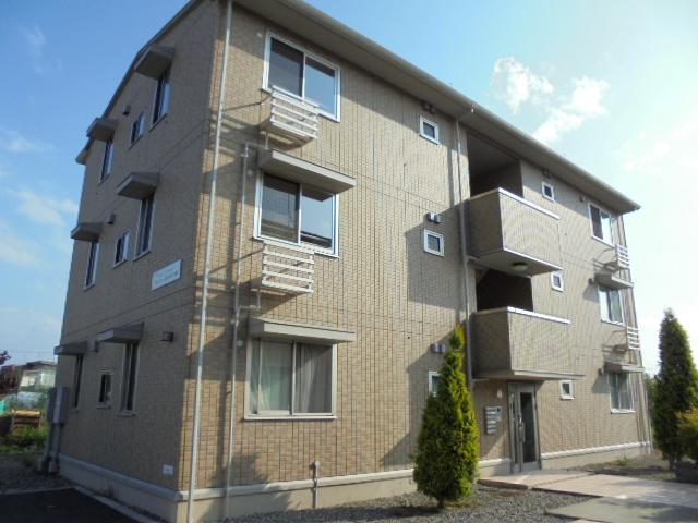 長野県長野市、豊野駅徒歩6分の築7年 3階建の賃貸アパート