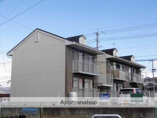 長野県須坂市、日野駅徒歩18分の築27年 2階建の賃貸アパート
