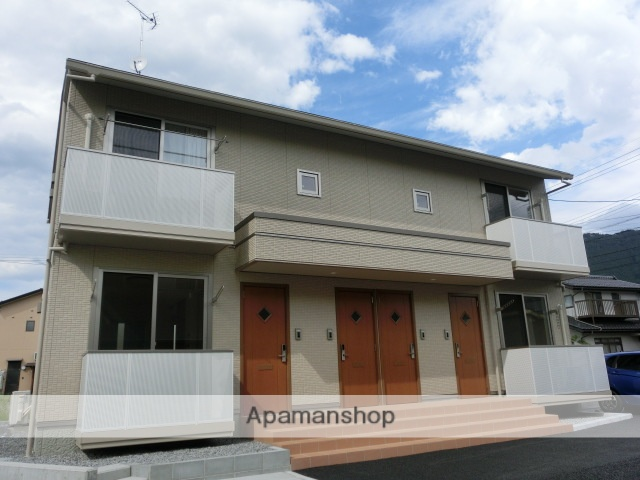 長野県中野市、信州中野駅徒歩14分の新築 2階建の賃貸アパート