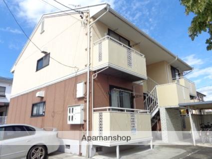 長野県須坂市の築25年 2階建の賃貸アパート