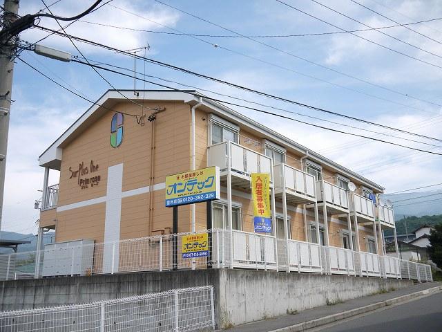 長野県松本市、松本駅バス24分明善学校下車後徒歩7分の築19年 2階建の賃貸アパート