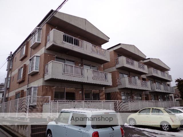 長野県松本市、北松本駅徒歩12分の築27年 3階建の賃貸マンション