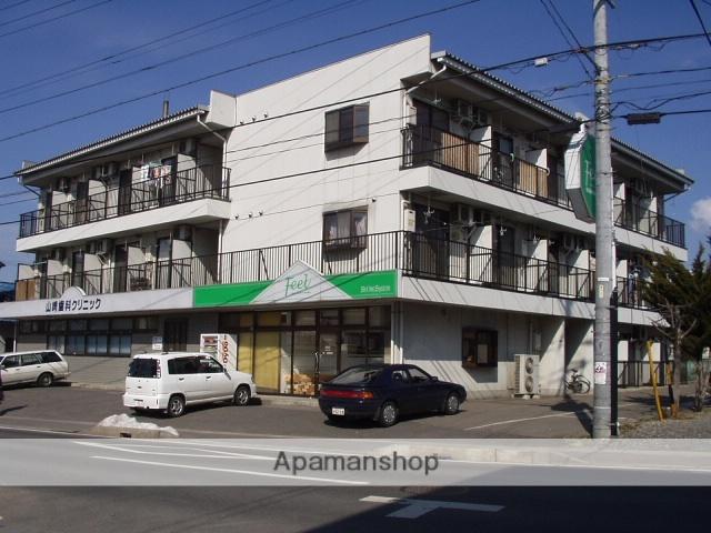 長野県松本市、松本駅バス19分西原下車後徒歩5分の築26年 3階建の賃貸マンション