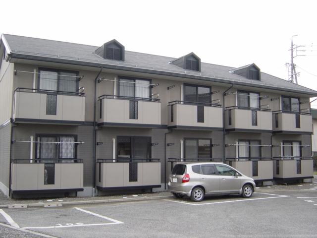 長野県松本市、村井駅徒歩6分の築20年 2階建の賃貸アパート