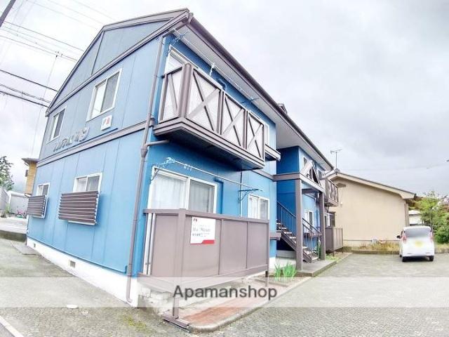 長野県松本市、松本駅バス15分松岡東区下車後徒歩5分の築26年 2階建の賃貸アパート