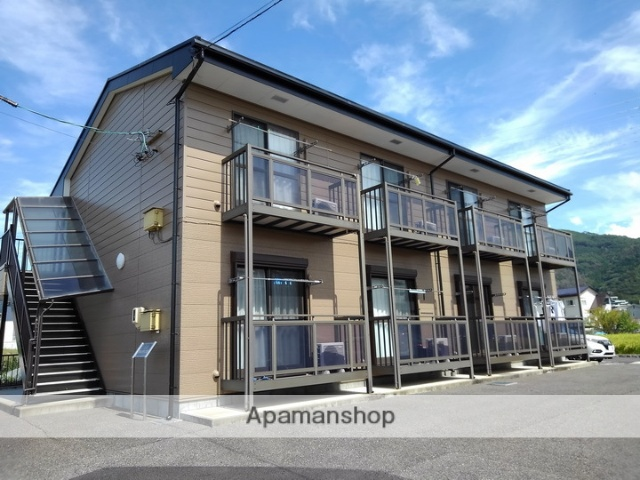長野県松本市、松本駅バス20分水汲下車後徒歩2分の築10年 2階建の賃貸アパート