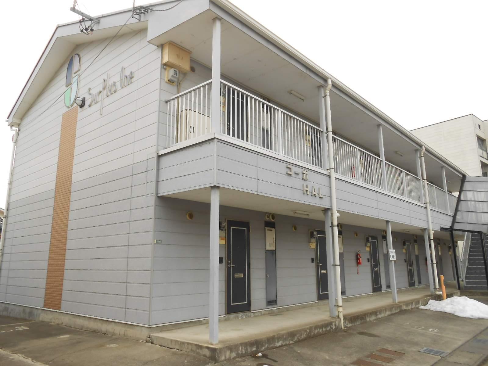 長野県松本市、南松本駅徒歩14分の築23年 2階建の賃貸アパート