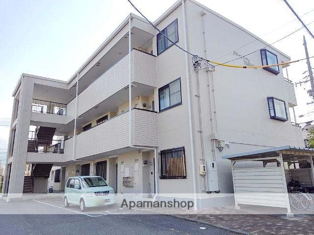 長野県松本市、村井駅徒歩17分の築20年 3階建の賃貸アパート