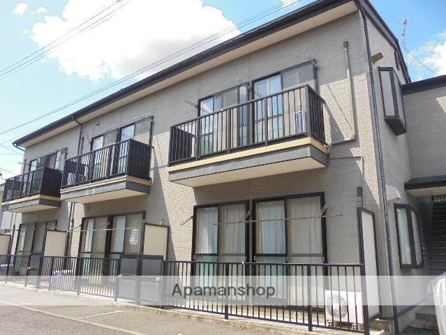 長野県松本市、松本駅バス10分征矢野口下車後徒歩2分の築17年 2階建の賃貸アパート
