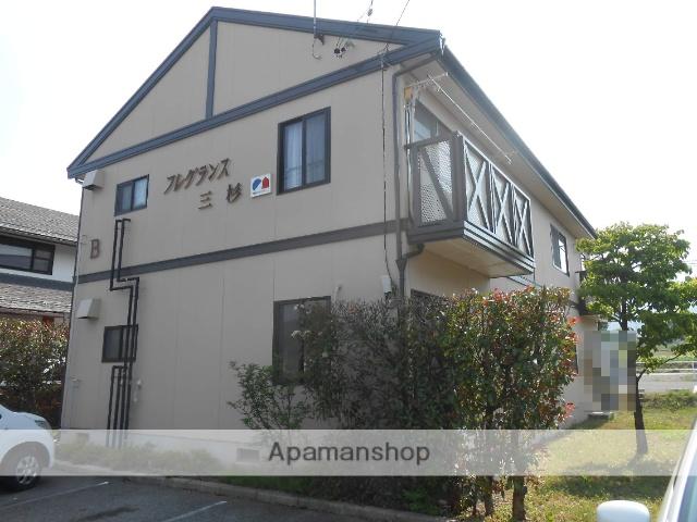 長野県松本市、松本駅バス27分小池ささらの里入り口下車後徒歩8分の築23年 2階建の賃貸アパート