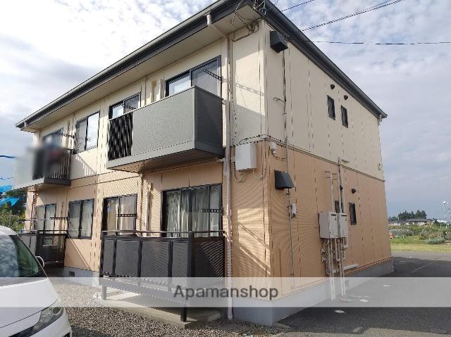 長野県松本市、松本駅バス27分小俣下車後徒歩2分の築19年 2階建の賃貸アパート