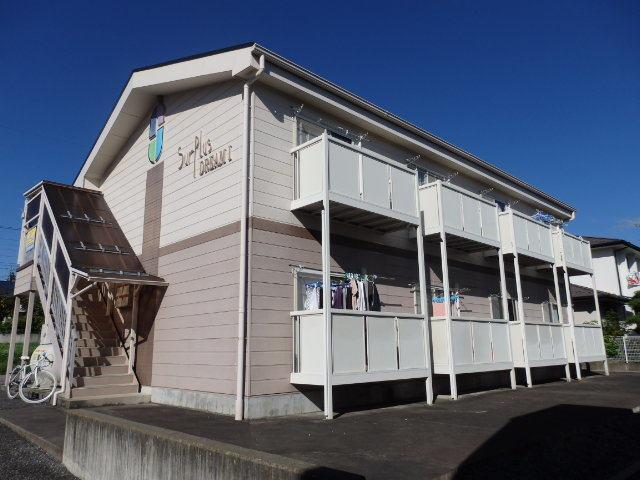 長野県松本市、松本駅バス20分岡田東区下車後徒歩5分の築23年 2階建の賃貸アパート
