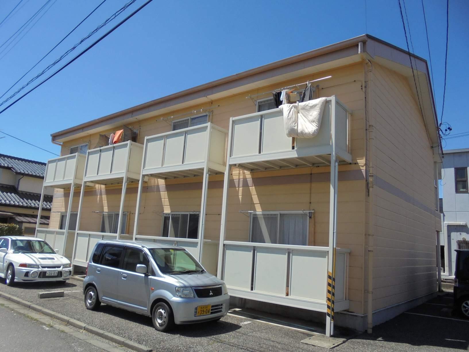 長野県松本市、南松本駅徒歩14分の築22年 2階建の賃貸アパート