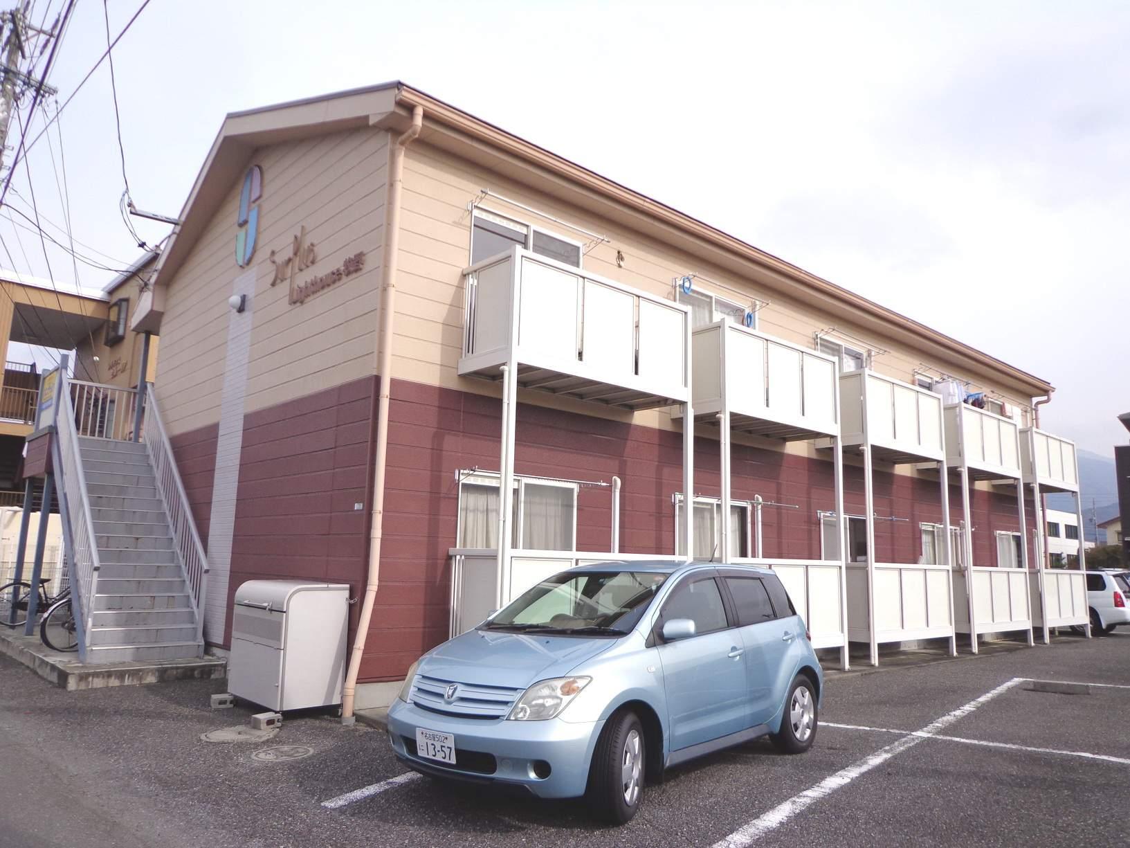 長野県松本市、南松本駅徒歩18分の築16年 2階建の賃貸アパート