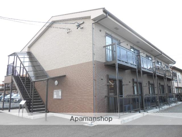 長野県松本市、松本駅バス16分石芝町下車後徒歩5分の築8年 2階建の賃貸アパート
