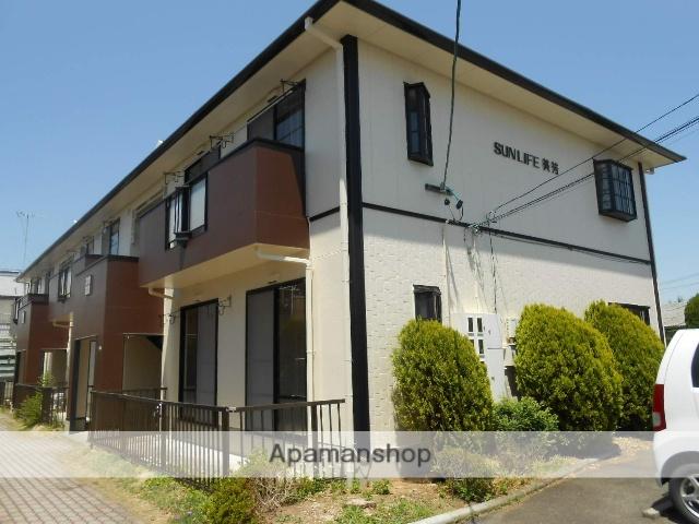 長野県松本市、平田駅徒歩7分の築25年 2階建の賃貸アパート
