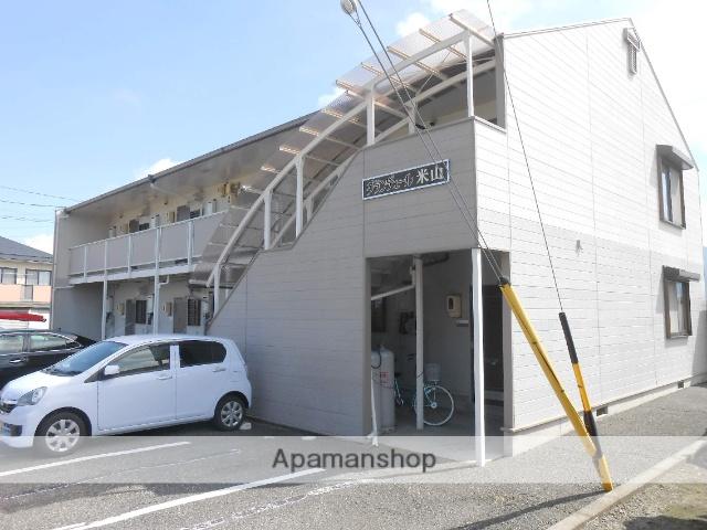 長野県松本市、松本駅バス25分やまびこドーム前下車後徒歩7分の築23年 2階建の賃貸アパート