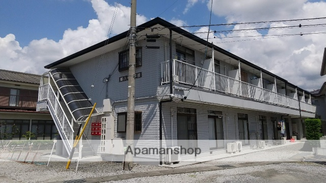 長野県松本市、平田駅徒歩9分の築23年 2階建の賃貸アパート