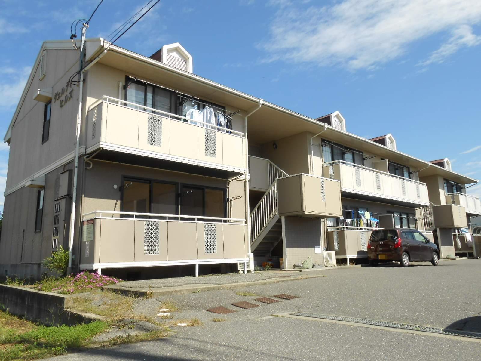 長野県松本市、松本駅バス17分野溝口下車後徒歩9分の築23年 2階建の賃貸アパート