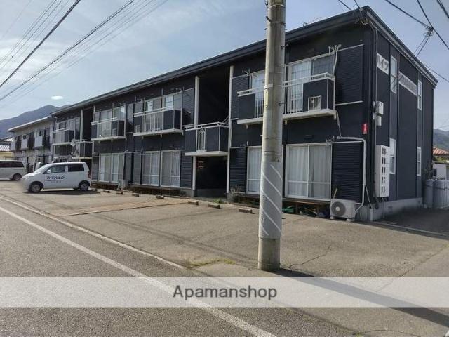 長野県松本市、波田駅徒歩10分の築25年 2階建の賃貸アパート