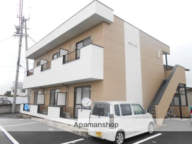 長野県松本市、松本駅バス23分神林下車後徒歩13分の築22年 2階建の賃貸アパート