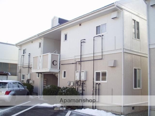長野県松本市、平田駅徒歩8分の築18年 2階建の賃貸アパート