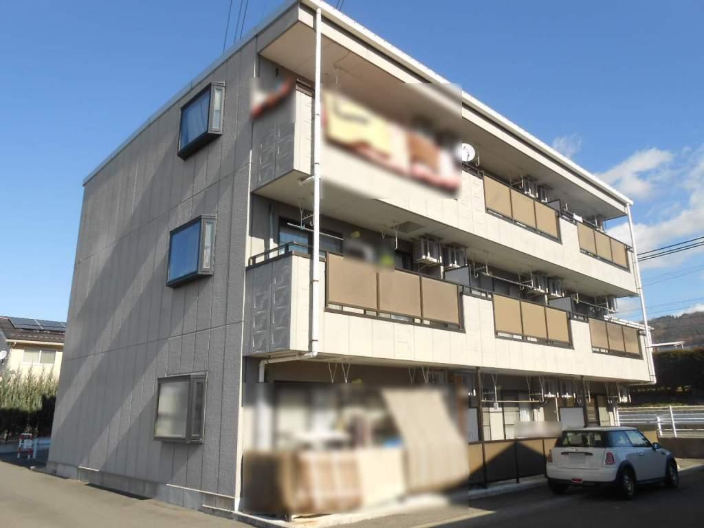 長野県松本市、松本駅バス15分西原下車後徒歩2分の築16年 3階建の賃貸マンション