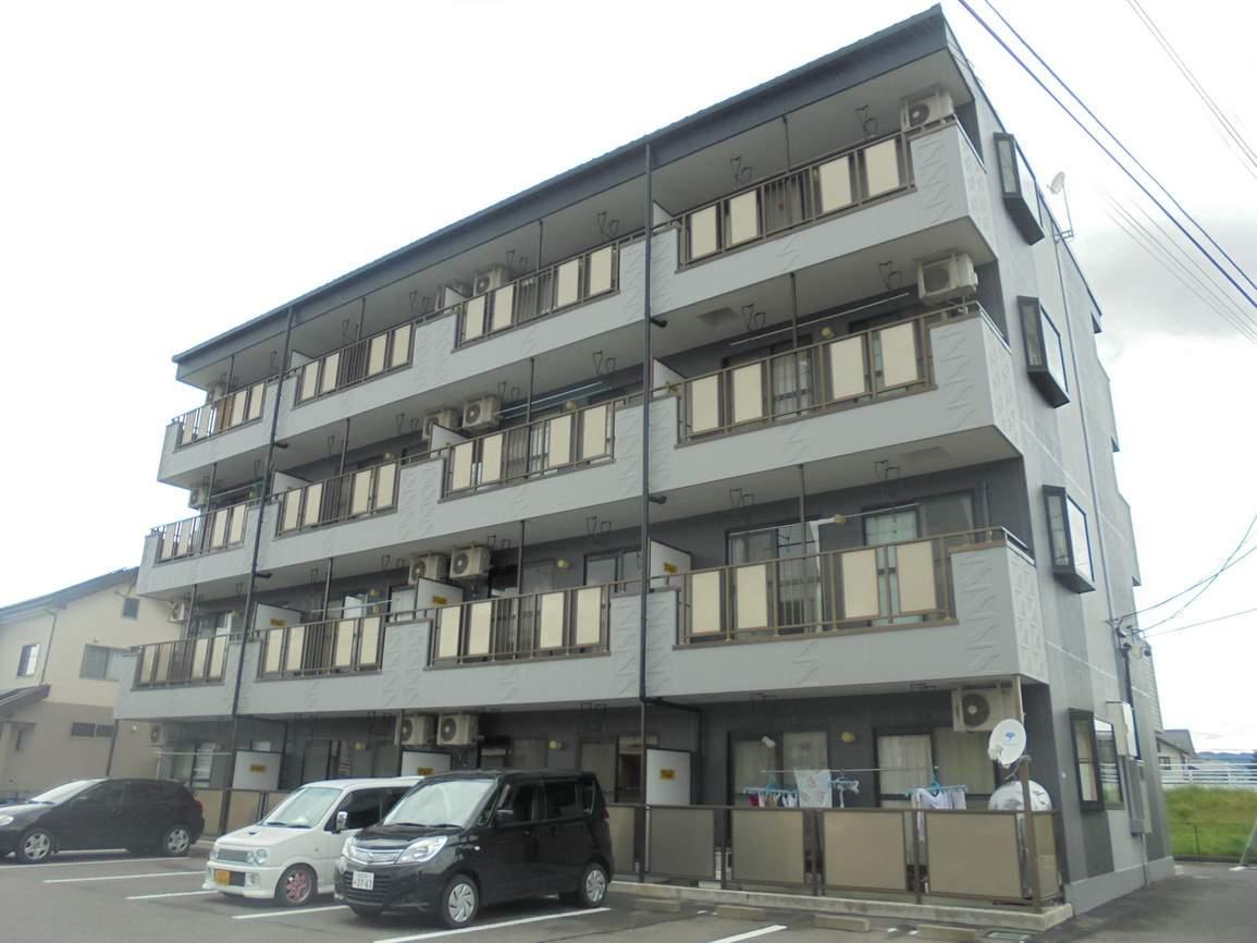 長野県松本市、南松本駅徒歩16分の築20年 4階建の賃貸マンション