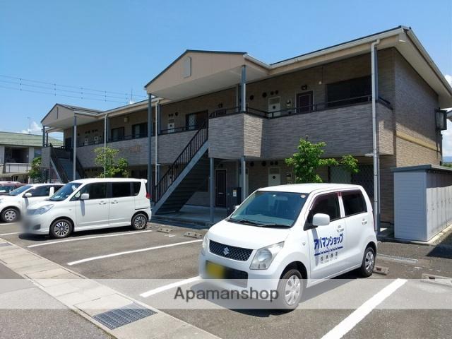 長野県松本市、島高松駅徒歩11分の築15年 2階建の賃貸アパート