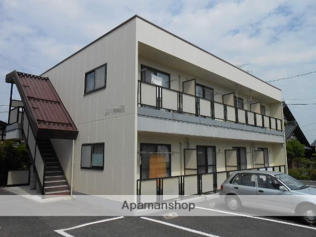 長野県松本市、村井駅バス20分水代橋下車後徒歩2分の築17年 2階建の賃貸アパート