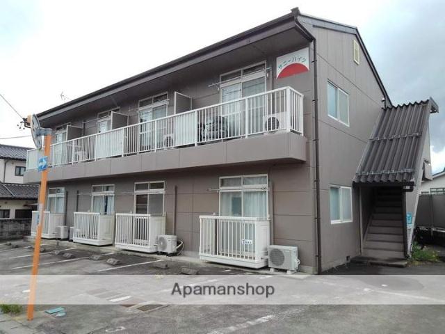 長野県松本市、松本駅バス14分松岡下車後徒歩2分の築23年 2階建の賃貸アパート