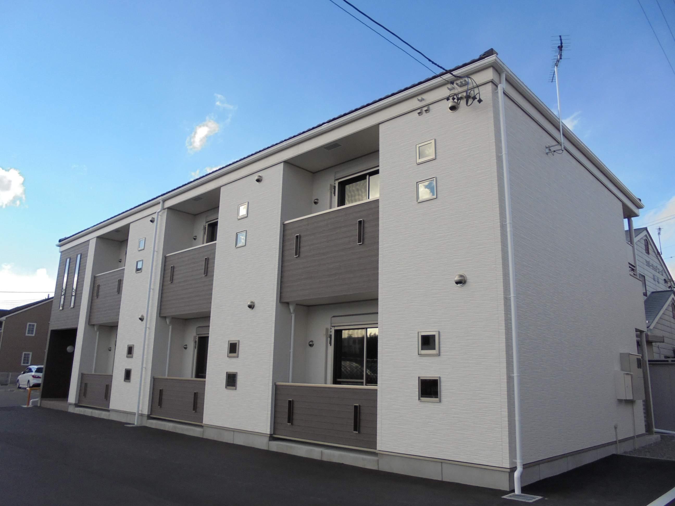 長野県松本市、松本駅徒歩14分の築1年 2階建の賃貸アパート