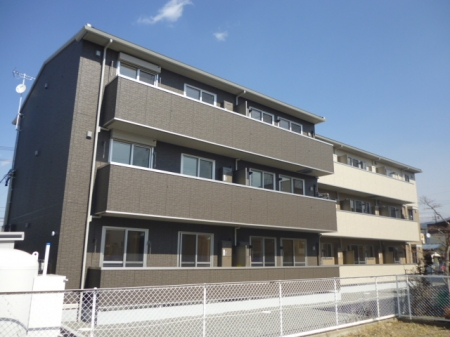 長野県松本市、南松本駅徒歩15分の新築 3階建の賃貸アパート