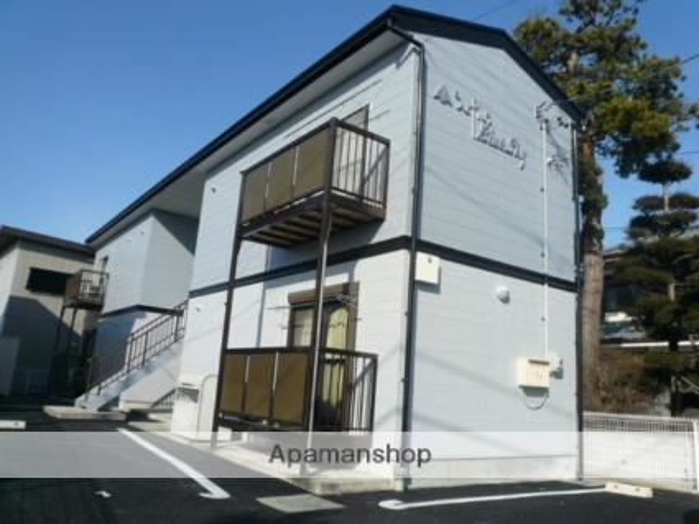 長野県松本市、松本駅バス20分神林下車後徒歩3分の築15年 2階建の賃貸アパート