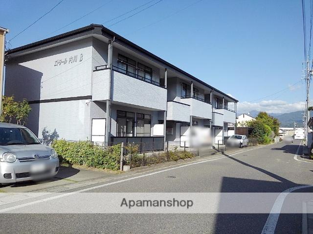 長野県松本市、松本駅バス20分二子橋下車後徒歩6分の築15年 2階建の賃貸アパート