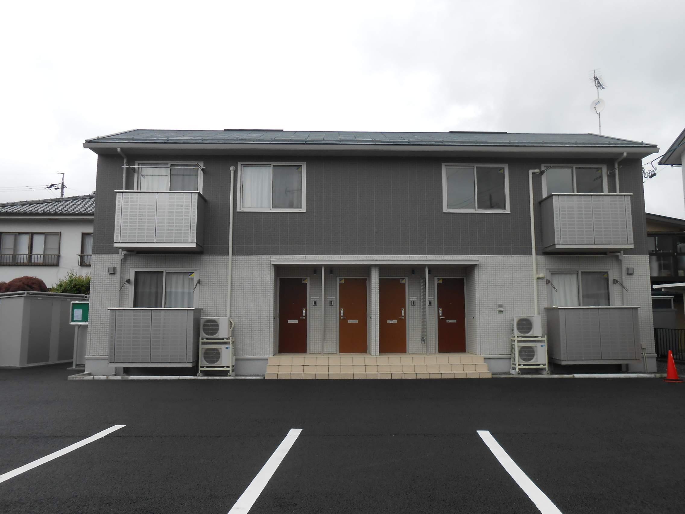 長野県松本市、平田駅徒歩17分の築1年 2階建の賃貸アパート