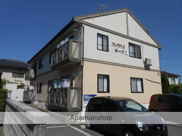 長野県松本市、平田駅徒歩13分の築23年 2階建の賃貸アパート