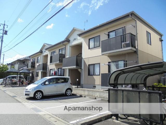 長野県松本市、松本駅バス18分松岡口下車後徒歩3分の築19年 2階建の賃貸アパート