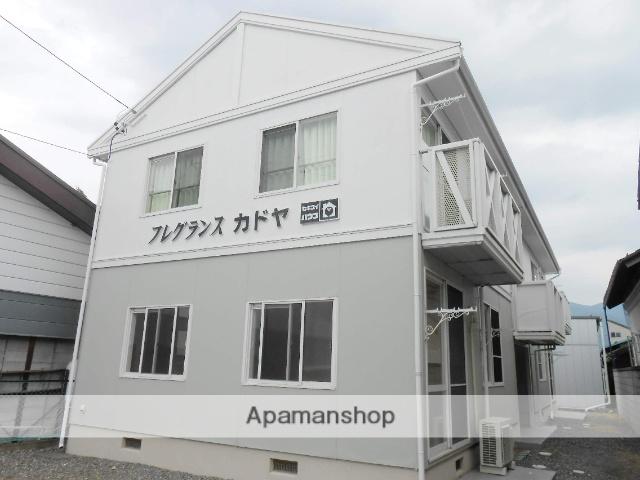 長野県松本市、村井駅徒歩8分の築28年 2階建の賃貸アパート
