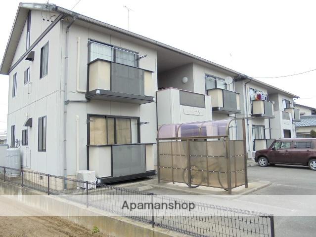 長野県松本市、新村駅徒歩21分の築20年 2階建の賃貸アパート