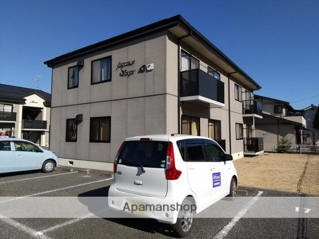 長野県松本市、波田駅徒歩20分の築18年 2階建の賃貸アパート