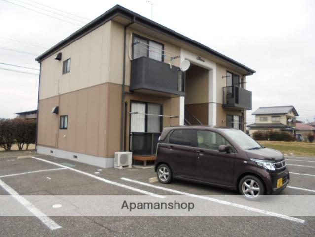長野県松本市、下島駅徒歩18分の築20年 2階建の賃貸アパート