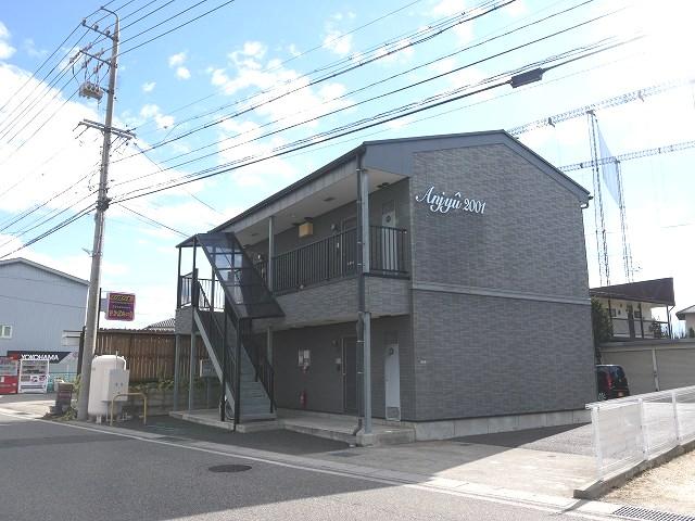長野県松本市、南松本駅徒歩30分の築15年 2階建の賃貸アパート