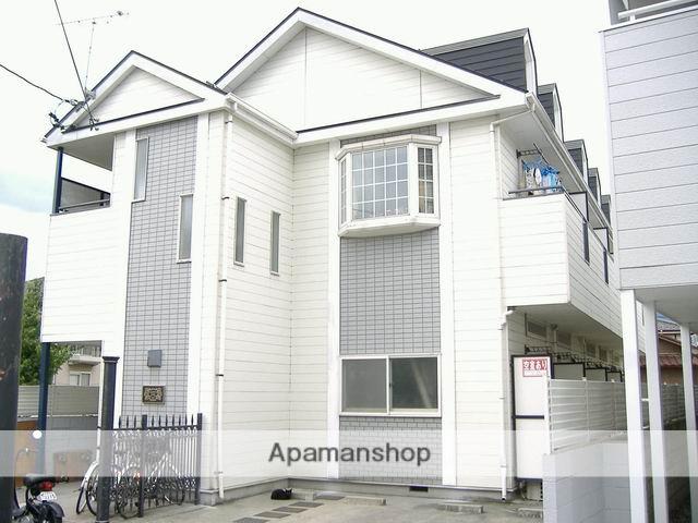 長野県松本市、松本駅徒歩12分の築25年 2階建の賃貸アパート