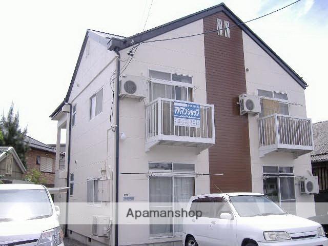 長野県松本市、松本駅徒歩10分の築22年 2階建の賃貸アパート